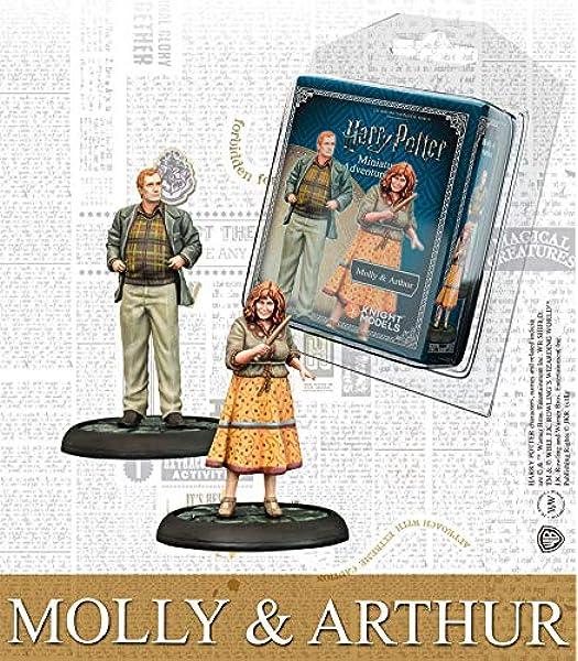 Knight Models Juego de Mesa - Miniaturas Resina Harry Potter Muñecos Mini Adventure Molly & Arthur Weasley English Version: Amazon.es: Juguetes y juegos