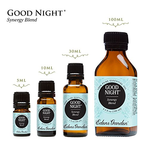 Good Night Synergy Blend Essential Oil by Edens Garden (Comparable to DoTerra's Serenity)