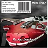 Rickenbacker 12-String Compressed Roundwound Electric Guitar Strings (10-46)