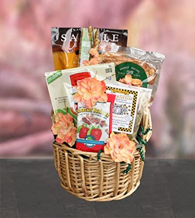 Amazon.com : Healthy Thank You Gift Basket : Gourmet Coffee Gifts ...