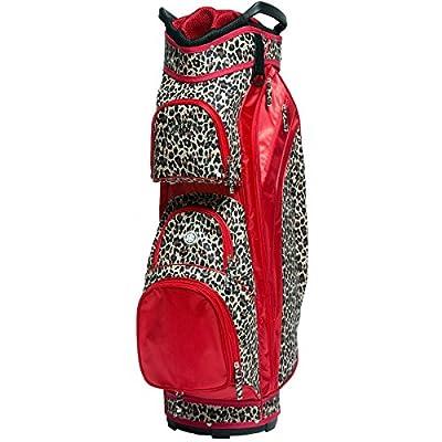 Women's Golf Bag Glove It Ladies 14 Way Golf Carry Bag Golf Cart Bags for Women Womens Lightweight Golf Travel Case Easy Lift Handle 2019 Black & White Rose