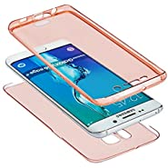 Samsung Galaxy S7 edge Case, AMASELL Ultrathin Full Body Scratch Resistant [Drop Proof] Transparent Protective TPU Case Cover for Samsung Galaxy S7 edge (2016)