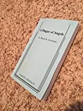 img - for A Plague of Angels (A Play) book / textbook / text book
