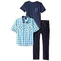 American Hawk Boys' Short Sleeve, T-Shirt and Pant Set (More Styles)