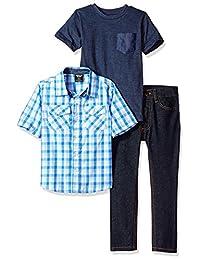 American Hawk - Camiseta de manga corta y pantalón para niño