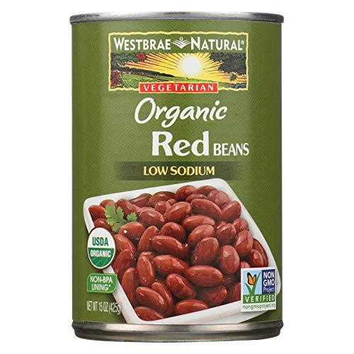 Westbrae Foods Red Beans - Westbrae Foods Organic Red Beans - Case of 12 - 15 oz.