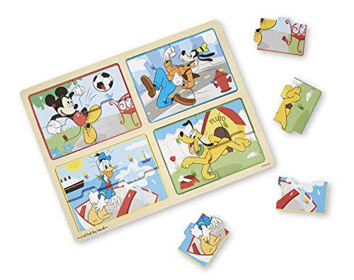 Melissa & Doug Mickey & Friends My First Wooden Peg Puzzle