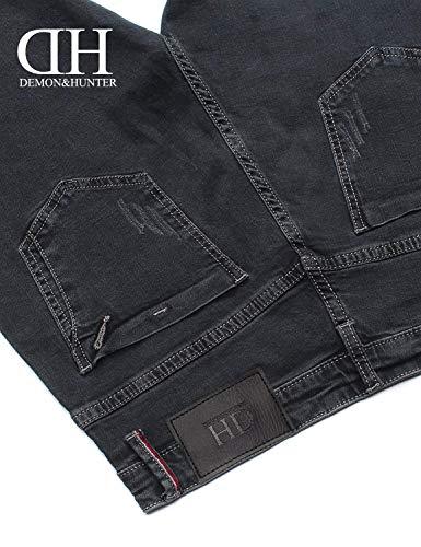 Fit Nn Grau Jeans Pantaloni 808b Della Di In Vintage Semplice Serie Morbido Stile Moda Uomo Da Eleganti Denim w4IYg