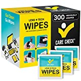 Best Eyeglass Wipes - Care Check Lens Wipes, 300 Pre-Moistened Cleaning Wipes Review
