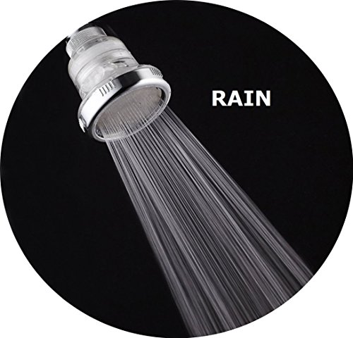 filtered shower head filters chlorine removes hard water prevents hair a. Black Bedroom Furniture Sets. Home Design Ideas