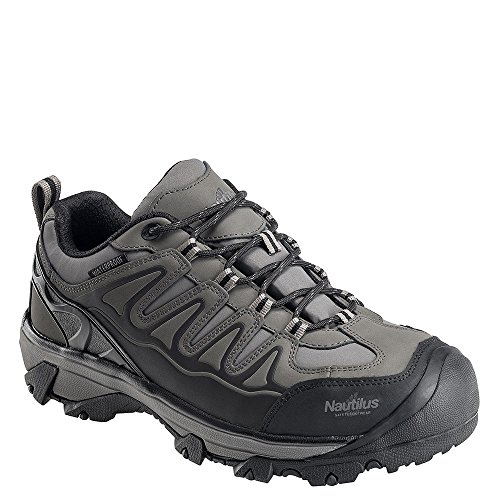 Avenger Leather Waterproof Hiker Para Hombre Oxford Gris Oscuro