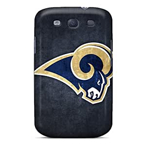 MansourMurray Samsung Galaxy S3 Comfortable Phone Hard Covers Support Personal Customs Trendy St. Louis Rams Series [mmH8454mdxi]
