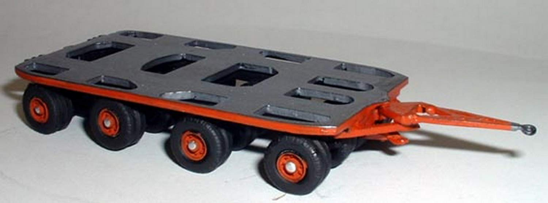 Langley Models de Grúa de 80 toneladas de B R S bogie OO Escala de Metal SIN pintar Modelo de Kit de G145: Amazon.es: Juguetes y juegos