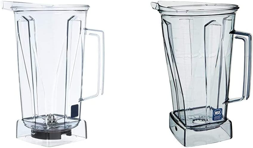 Vitamix Clear Container with Blade and no lid, 64 Ounce & 58625 64-oz Container, Portion System, Touch and Go, BarBoss, Drink Machine, Vita-Prep - Container Only