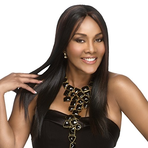 Vivica A. Fox JAVANT-V New Futura Fiber, Deep Lace Front Wig in Color 1 -