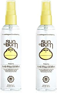 product image for Sun Bum Anti Frizz Oil Mist Spray | Anti Frizz Hair Spray | Humidity Control | Moisturizing, Paraben Free | 3 Ounce Spray Bottle | 2 Count