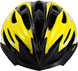 Rhoads Circuit Bicycle Helmet, Yellow/Black/White, Adult Review