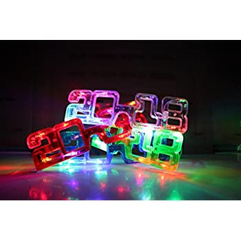 Amazon.com: 2018 New Years Eve Party Supplies, 2018 LED ...