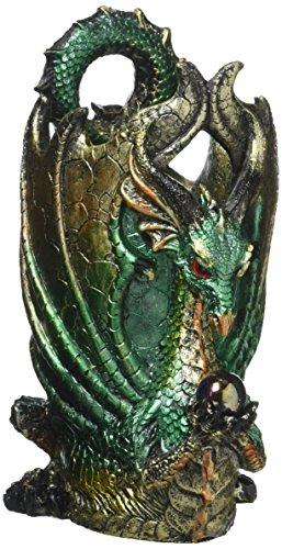 Design Toscano Escritoire The Dragon Desk Accessory Sculpture, Full - Dragon Pen Holder