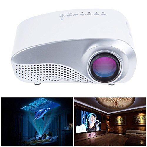 Show me all the prices of rienar led mini projector for Hd pocket projector