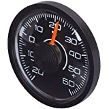 Richter 3515 CAR dash Circular Round Classic Analogue Thermometer Gauge Accessories Sedan VAN SUV Truck Jeep Compact Mini Type
