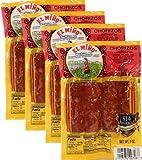 Chorizos El Miño . 4 chorizos per pack 7 oz. Total 16 Chorizos