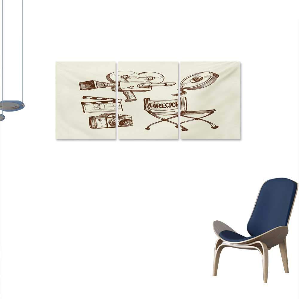 Superb Amazon Com Winfreydecor Movie Theater Modern Canvas Unemploymentrelief Wooden Chair Designs For Living Room Unemploymentrelieforg