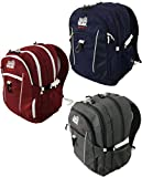 Alpinizmo High Peak USA Vector 38 Backpack Combo Set, Blue/Red/Grey, One Size Review