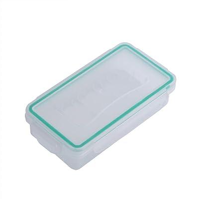 Fosa Caisse de stockage de batterie boîtier en plastique résistant à l'usure imperméable à l'eau boîte de rangement de support de batterie 18650 1pc