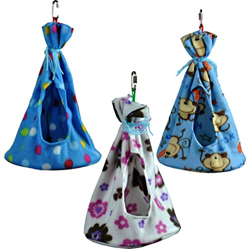 Cozy Sleeper Hideaway / Nesting Pouches for Your Small to Medium-sized Pets (Birds and Mammals) (X-Large)