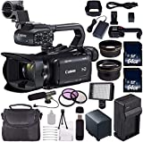 Canon XA11 Compact Full HD ENG Camcorder #2218C002 + 64GB Memory Card + BP-820 Replacement Lithium Ion Battery Bundle 3