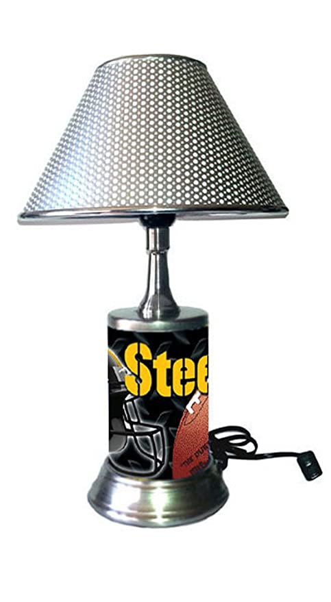f3fe18efd Amazon.com  JS Table Lamp with Chrome Colored Shade