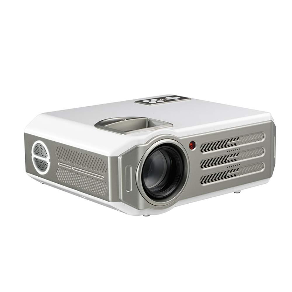ビデオプロジェクター、HD スライドプロジェクター、1080P ポータブル家庭用ミニプロジェクター、対応テレビ HDMI VGA USB ノートパソコンスマートフォン B07S9HX3KW