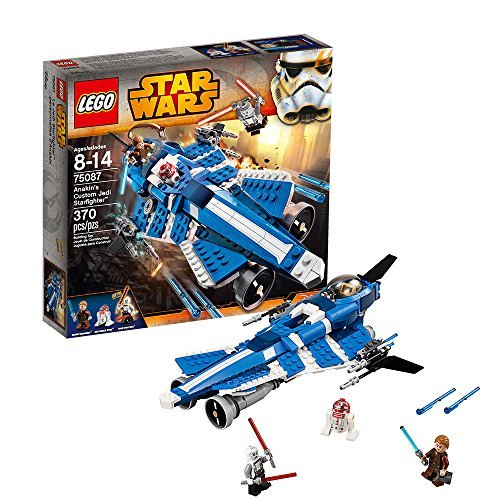 LEGO star wars Anakin's Custom Jedi Starfighter Lego Star Wars Anakin custom Jedi Starfighter 75087 parallel import goods