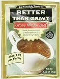 Better Than Gravy Gravy Mix Beef, 1.25-Ounce (Pack of 12)