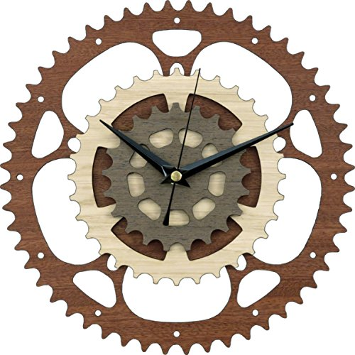 Gears Wooden Clock / Bike Clock / Bicycle Clock / Motorcycle Clock