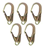 Fusion Climb Inifinity Alloy Steel Captive Eye Drop Forged Double Lock Rebar Hook 5-Pack