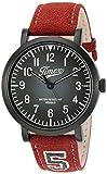 Timex Unisex TW2P83200 Originals University Red Leather Strap Watch