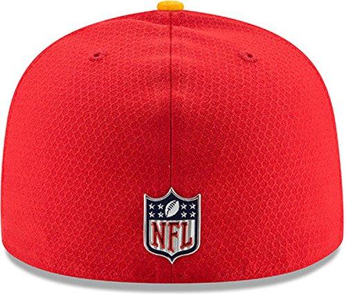588a17a97e1 New Era 59Fifty Cap - NFL SIDELINE 2017 Kansas City Chiefs - Sports ...