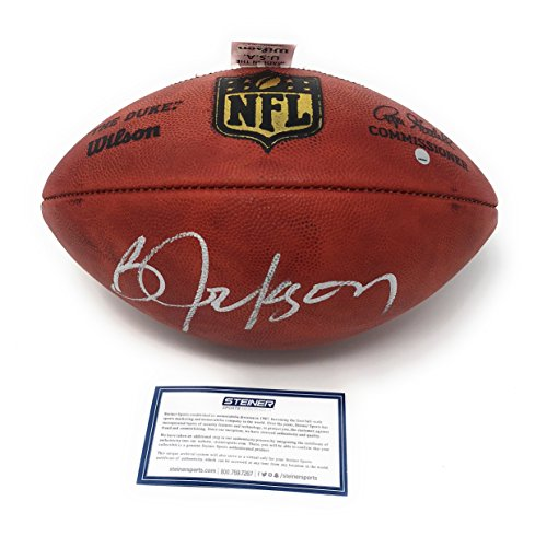 (Bo Jackson Oakland Raiders Signed Autograph Authentic NFL Duke Football Steiner Sports Certified)