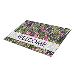 chirshion Holiday Doormats Girly Blank One size Personalised Door Mats