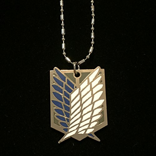 Attack on Titan Wings of Freedom Survey Corps Necklace (Mikasa Wings)