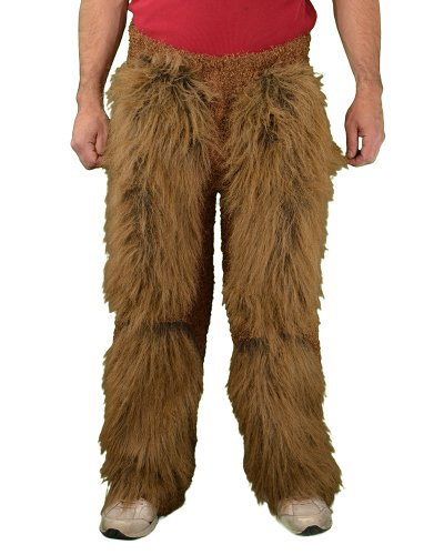 Zagone Beast Legs Brown Faux Fur, Light Weight - Roman Theatre Costumes And Masks