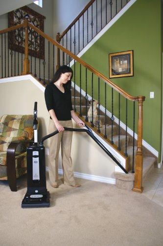 SEBO 9501AM Automatic X4 Upright Vacuum, Black - Corded