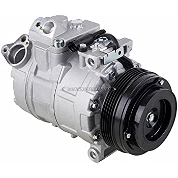 AC Compressor & A/C Clutch For BMW 323i 325i 328i 330i ci xi 525i 528i 530i M3 - BuyAutoParts 60-01333NA New