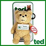 Clip Ted to your backpack and carry the whimsical wonder of Seth MacFarlane's Ted film with you everywhere you go. This hilarious Ted Talking Backpack Clip Plush will keep you entertained for a countless amount of time! He looks so cute and innocent,...