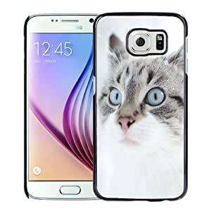 New Personalized Custom Designed For Samsung Galaxy S6 Phone Case For Cute Cat In Snow Phone Case Cover