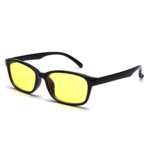 c18d5d81718e Rafbenson Resin Lenses Anti Fatigue Reading Glasses For Women Man Comfy  (Black