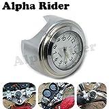 Handlebar Clock Watch for Harley Suzuki Kawasaki