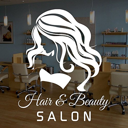 Dnven  DIY Woman Hair & Beauty Salon Quotes Graphic Wall Dec